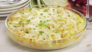 Еще одно интересное блюдо из картофеля. Французский гратен. Рецепт от Всегда Вкусно!