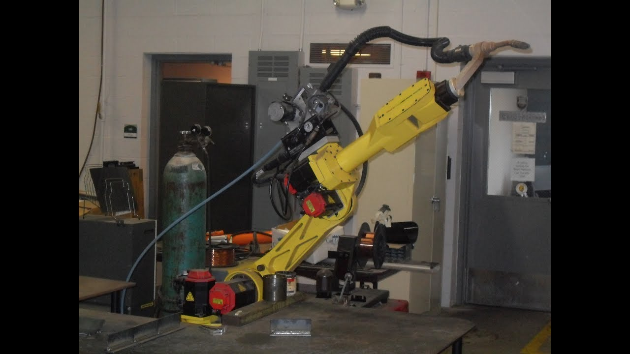 How to Program A Weave Pattern in a Welding Robot