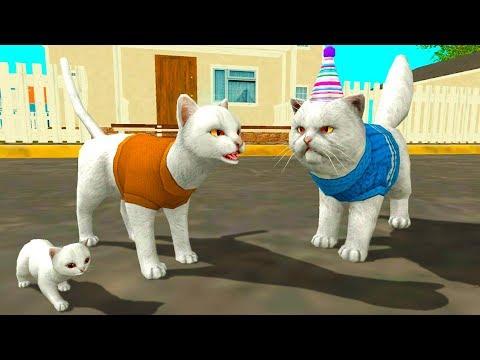 СИМУЛЯТОР Маленького КОТЕНКА #18 Кид играет кошкой и котом на #ПУРУМЧАТА