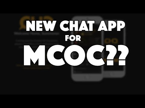 CHQ: A New Chat App Built for MCOC??