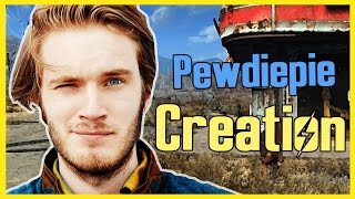PewDiePie in Fallout 4 | Character Creation | Fallout 4 Timelapse