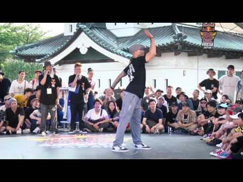 Jr boogaloo(USA) Judge Move | SAMURAI WORLD FINAL 2017.07.02 | Red Bull BC One Camp Japan 2017