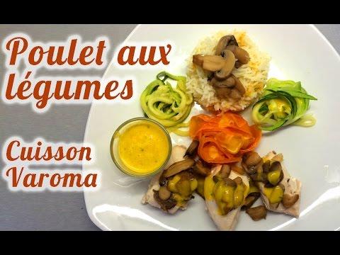 recette-thermomix-poulet-aux-légumes-cuisson-vapeur-varoma-à-4-étages