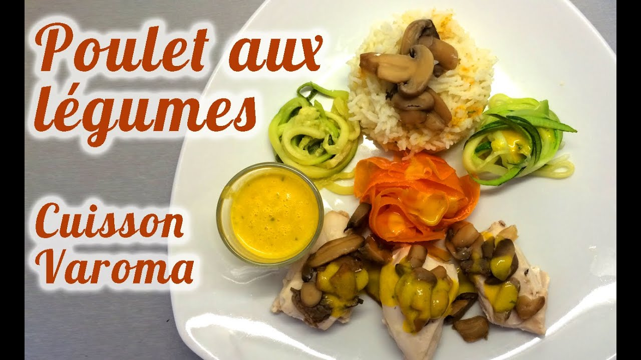 recette thermomix poulet aux l gumes cuisson vapeur varoma 4 tages youtube. Black Bedroom Furniture Sets. Home Design Ideas