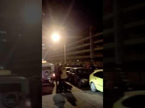 Дтп в Воронеже 1.11.2016 во дворах по ул. Шишкова (прочитайте описание под видео)