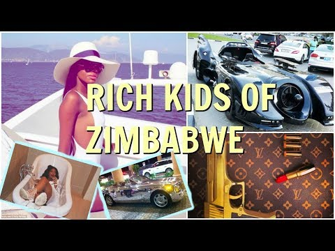 RICH KIDS OF ZIMBABWE | THE YOUNG AND ELITE WHO LOVE TO FLAUNT THEIR RICHES