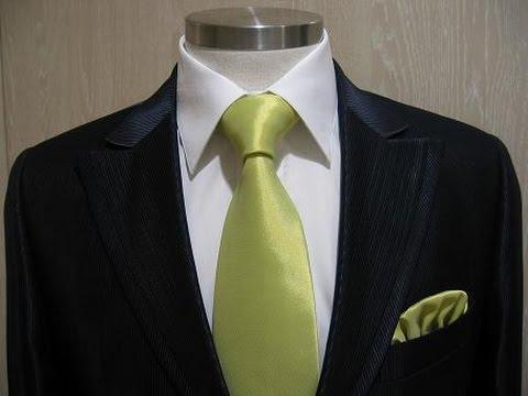 Nudo de corbata medio windsor como hacer nudo sencillo for Pasos para hacer nudo de corbata