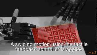 Robotic hand that feels real