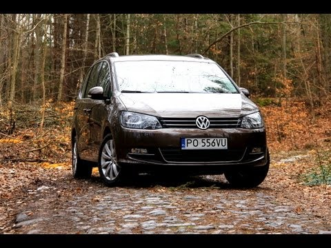 vw sharan 2 0 tdi bluemotion test moto youtube. Black Bedroom Furniture Sets. Home Design Ideas