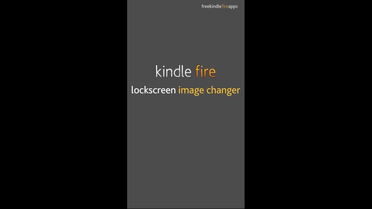 FREE APP] Change Kindle Fire Wallpaper