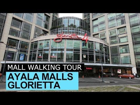 Glorietta Ayala Center Mall tour Makati Philippines