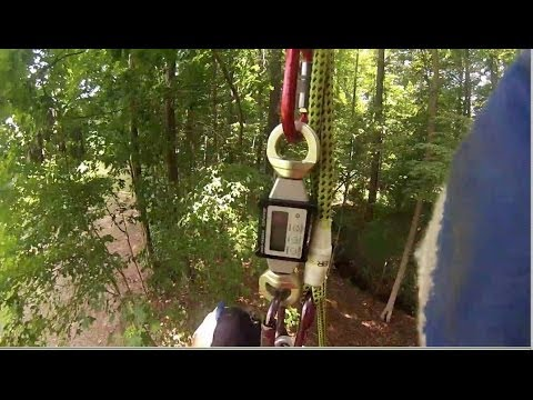 Re-thinking the need for a pulley saver or friction-less tie in point