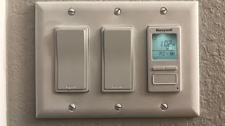 Best Automatic Outdoor Light Timer Honeywell Programmable Timer Light Switch Review