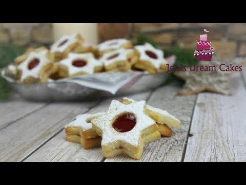 Linzer Weihnachtsplätzchen.Die Besten Linzer Plätzchen Spitzbuben Weihnachtsplätzchen