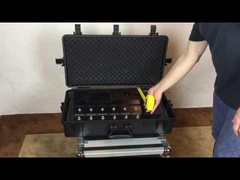 Line 6 Helix Waterproof case Pelican style