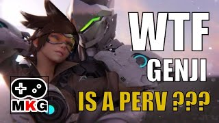 Xim4 - Genji is a perv ( Widow Maker 's butt )