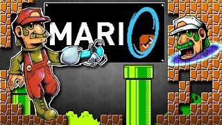 Mari0 | 2 Player Co-op becomes VS Mode! | Super Mario Bros. Meets Portal