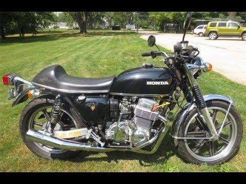 73 Honda Cb750 Four Custom Cafe Racer Youtube