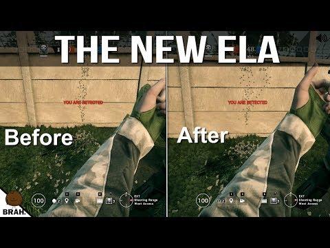 New Ela Recoil Comparisons - Rainbow Six Siege Operation Chimera