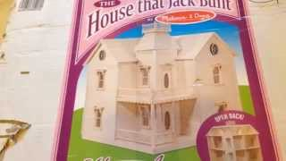 Holly Ann Dollhouse Build Video #1