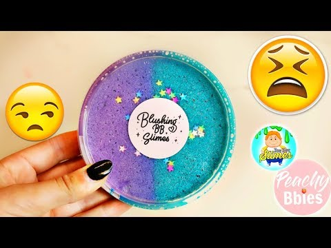 100 honest peachybbies blushing bb famous slime shop review for Bb shopping it
