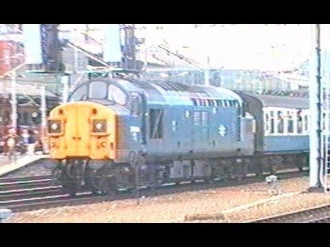 UK - British Rail in Crewe 1990