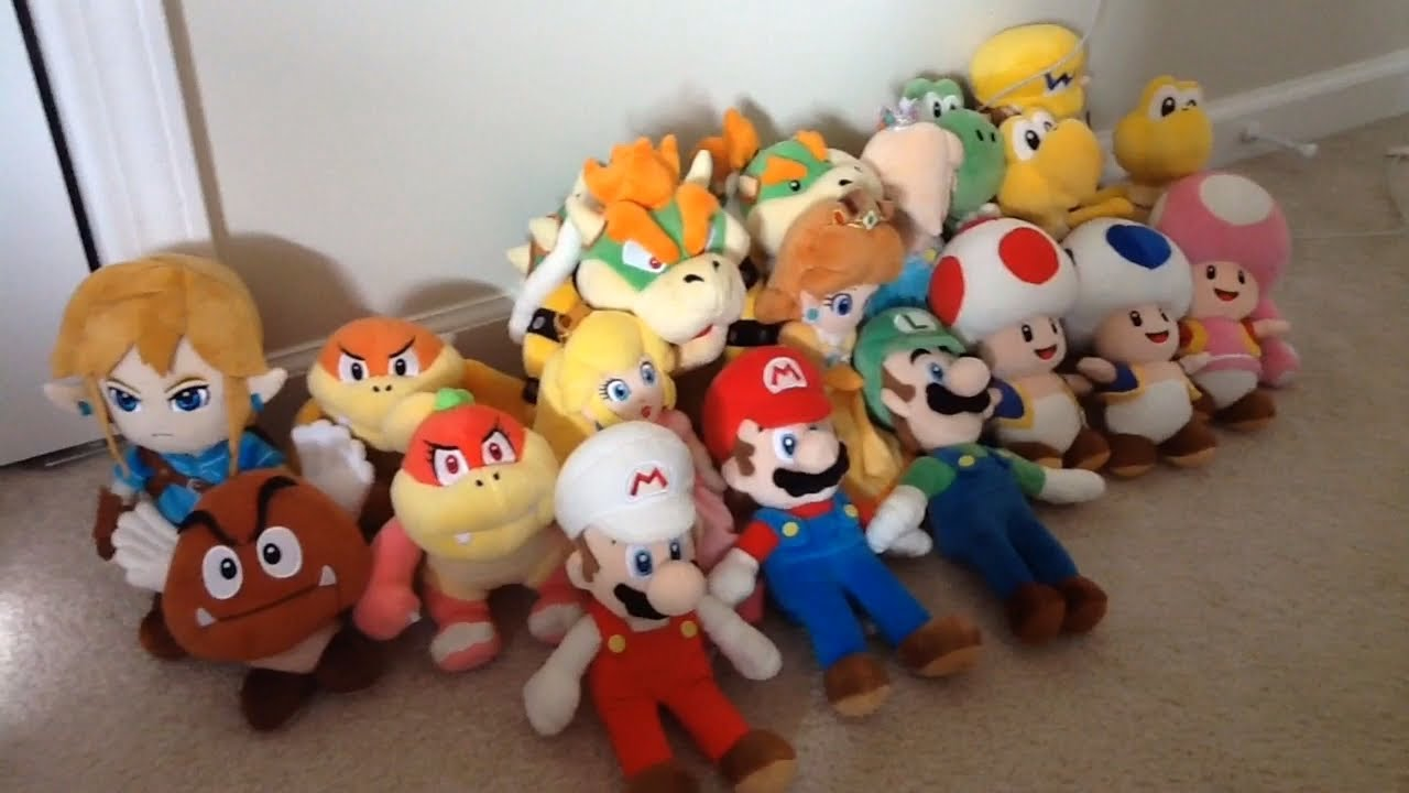 All Stars Mario Plush Collection 2018 Youtube