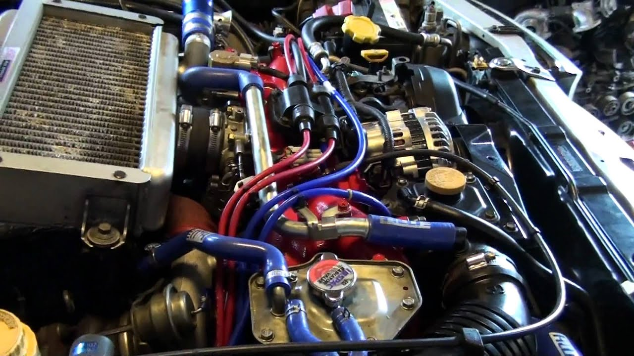 BG5a Legacy Twin Turbo to Single Turbo conversion