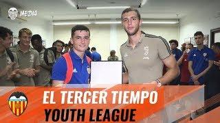 EL TERCER TIEMPO DE LA YOUTH LEAGUE: VALENCIA CF Y JUVENTUS, FAIR PLAY Y RESPECT