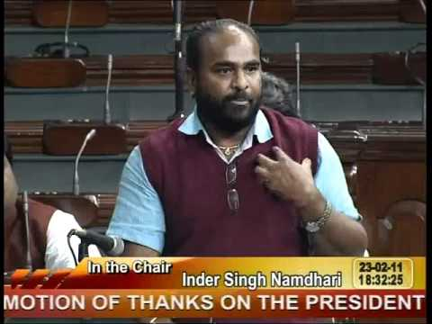 MOTION OF THANKS ON THE PRESIDENT'S ADDRESS: Sh. Katti Ramesh Vishwanath: 23.02.2011