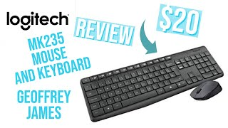Logitech mk235 mouse and keyboard combo (Review)