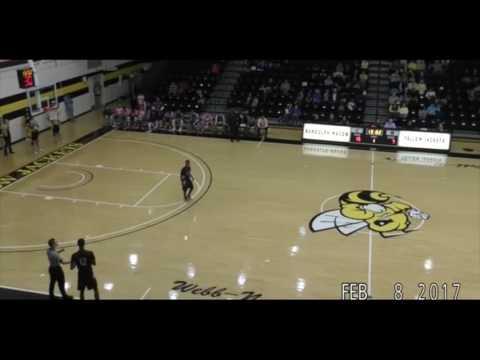 Malcolm Clark Shenandoah University vs Randolph Macon College (Full Game 2/8/17)