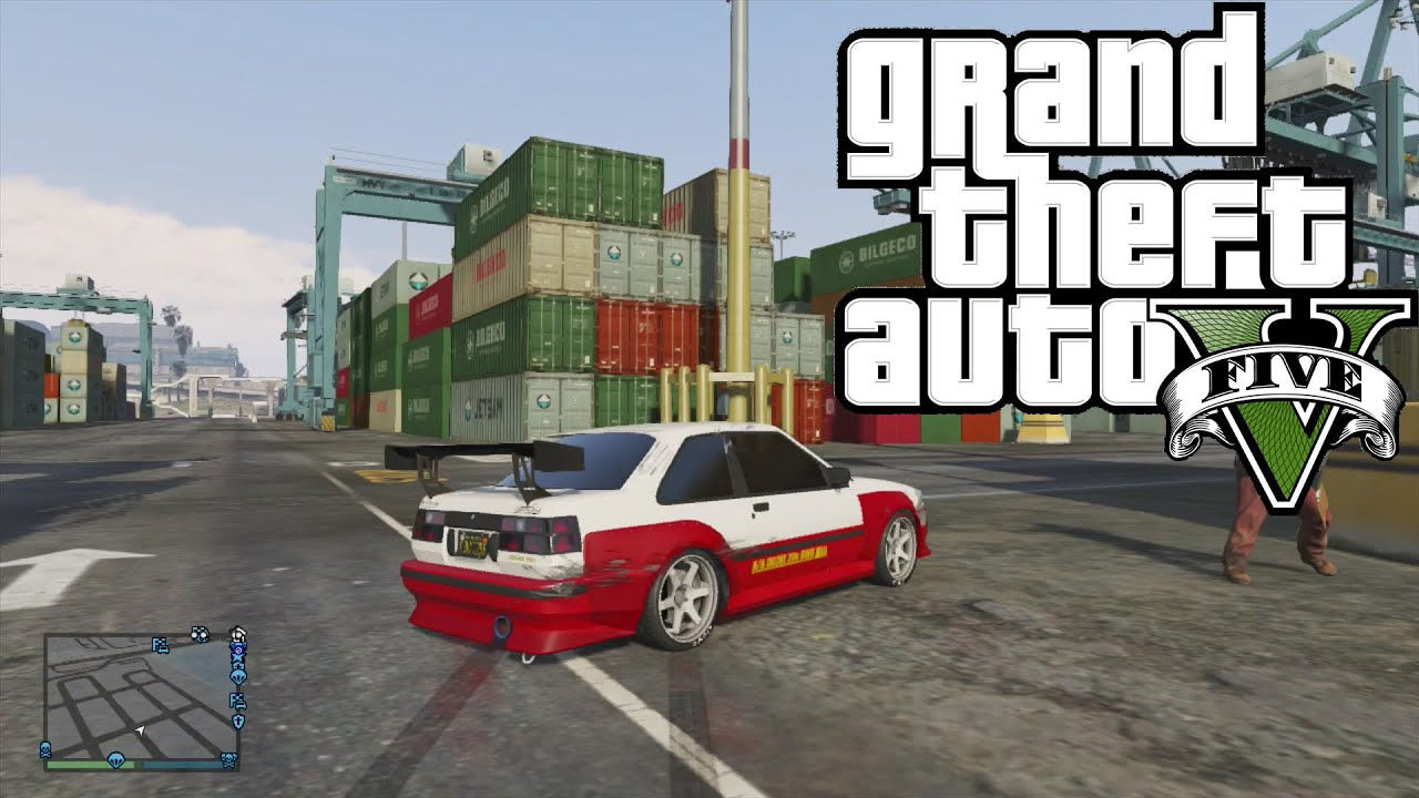 Gta How To Drift Without Cheats Youtube