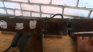 Как начинающим сварным заварить утечки и дефекты на трубах(В этом видео я покажу как устранять утечки на трубах и заваривать различные дефекты за неопытными сварщика..., 2014-12-19T14:26:59.000Z)