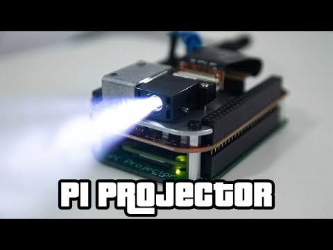 Pi Projector by MickMake | The Raspberry Pi Zero Pocket Projector
