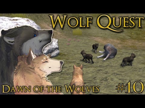 A Coyote Invasion in the Den!! 🐺 WOLF QUEST: DAWN OF THE WOLVES 🐺 Episode #10