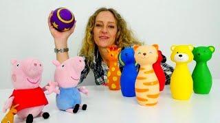Spielzeugvideo für Kinder - Farben und Zahlen Lernen leicht gemacht