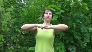 занимаемся вместе Урок 4. Упражнения для шеи