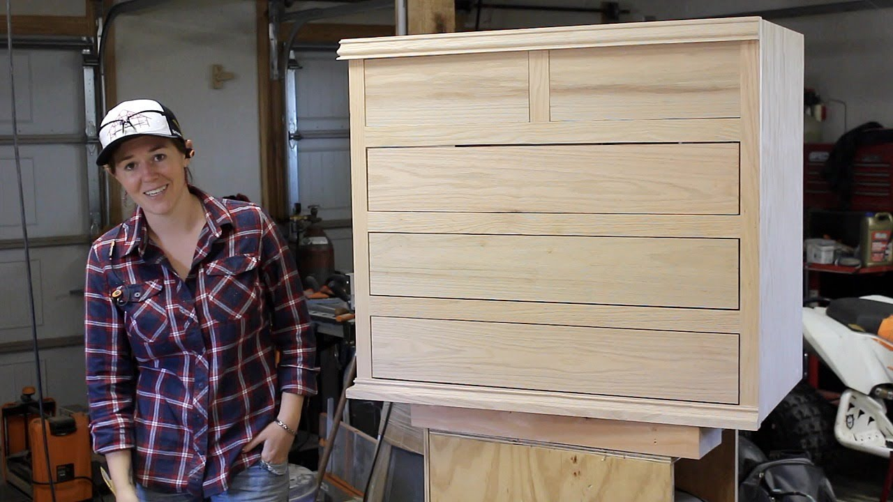 Building a Bathroom Vanity With Drawers - YouTube