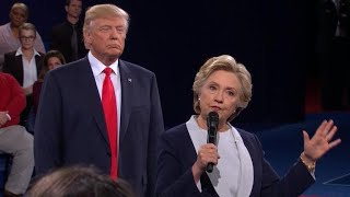 """""""My skin crawled"""": Hillary Clinton speaks about debate with Trump"""