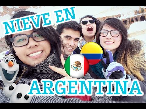 ¡NIEVE!    Mendoza, Argentina.