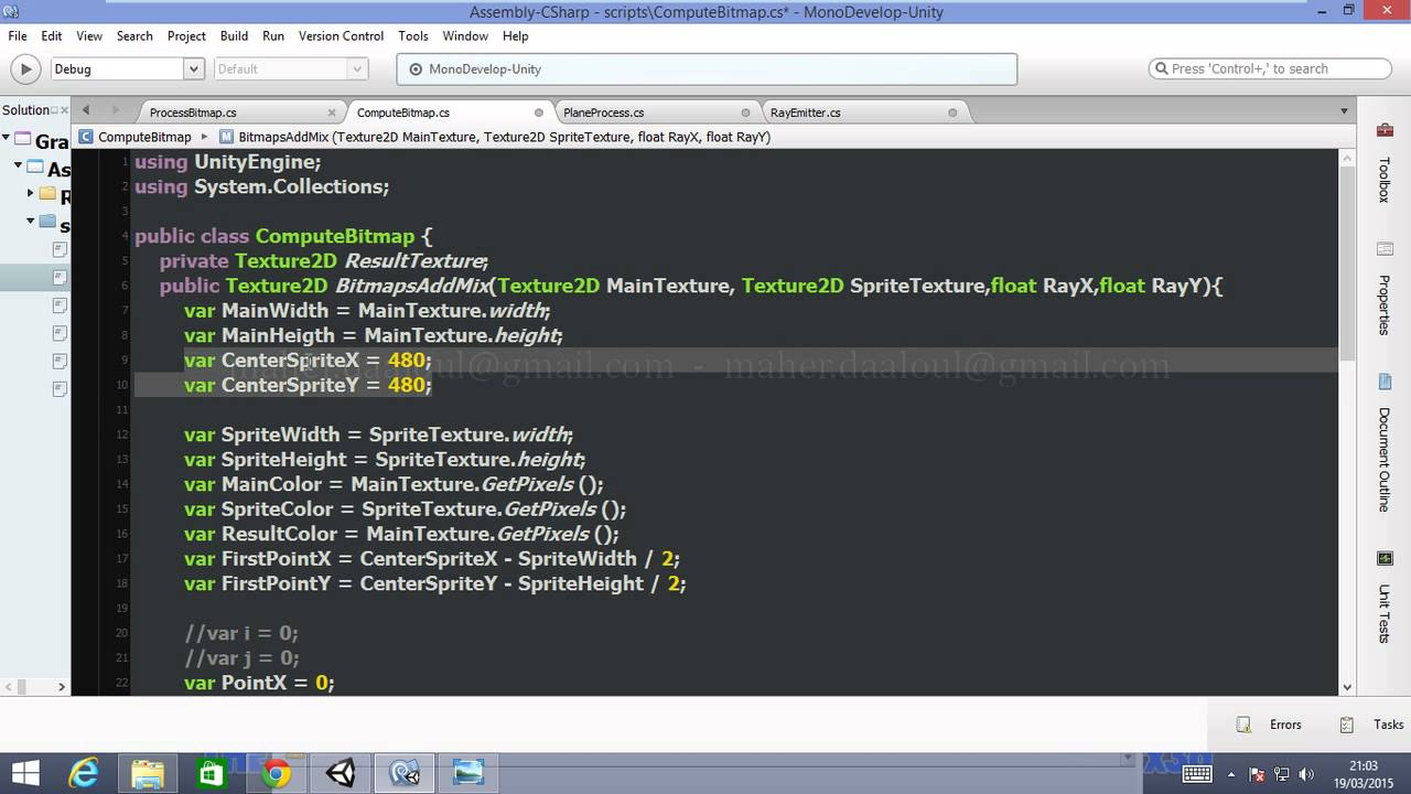 Unity 3d / C# : Creating a function that paint a sprite on a Texture2D  Part5 (in English)