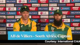 2015 WC SA vs IRE: AB de Villiers on thrashing Ireland