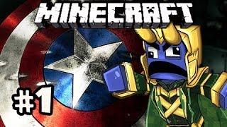 HUNT CAPS - Minecraft: Asgard Captain America SPECIAL w/Nova & Kootra Ep.1
