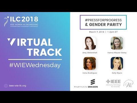 #WIEWednesday 2018: #PressForProgress & Gender Parity