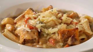 Weight Watchers - Healthy Creamy Chicken Pumpkin Pasta