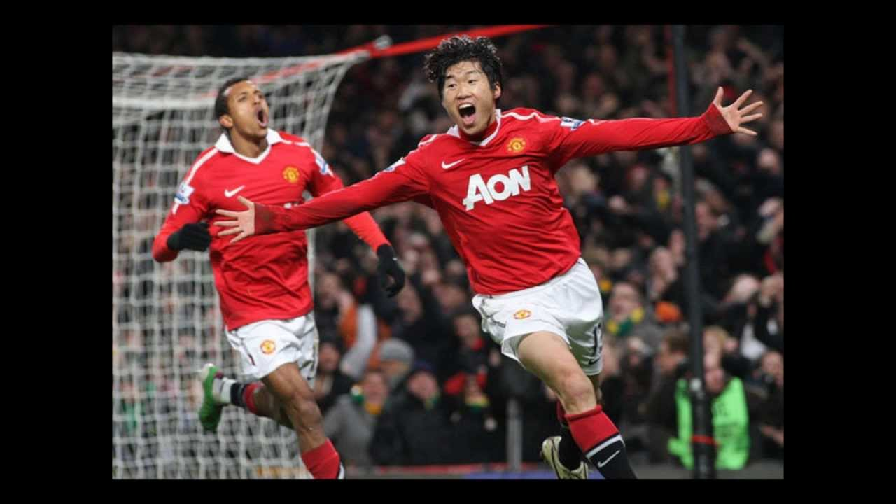 be4cac21f Park Ji Sung Manchester United goodbye and thank you - YouTube