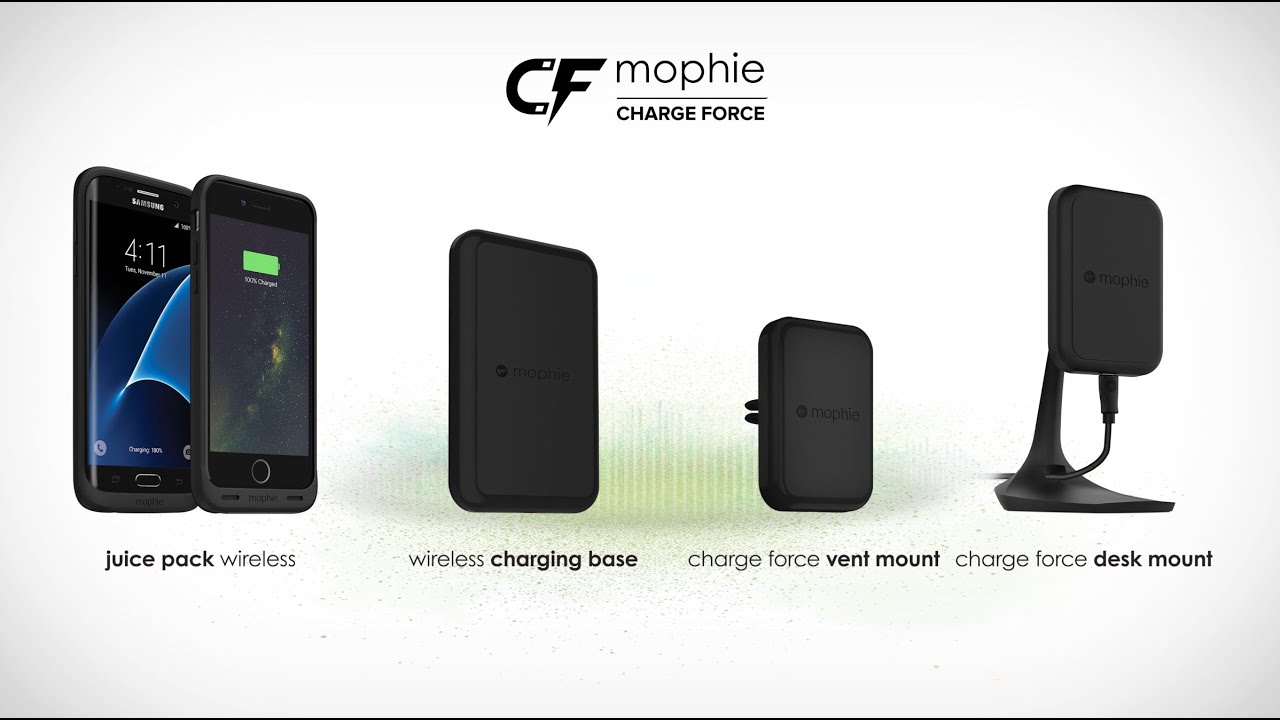 the best attitude 683c6 b141c Mophie Launches Wireless 'Charge Force' Battery Cases and Charging ...