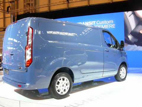 ford transit custom new model 2012 at cv show uk mov youtube. Black Bedroom Furniture Sets. Home Design Ideas