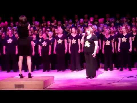 Basingstoke Rock Choir - Something Inside So Strong - The Anvil 12/07/2012